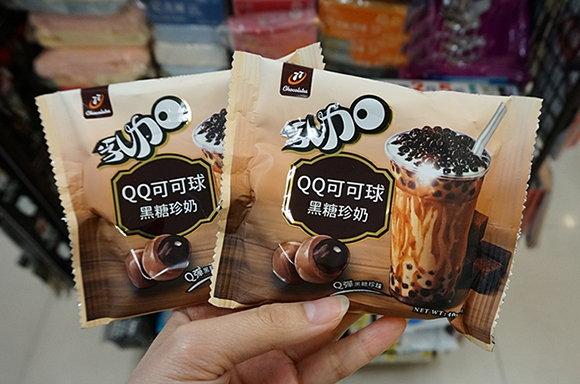 最受欧美旅客最爱的台湾零食:黑糖珍奶QQ可可球