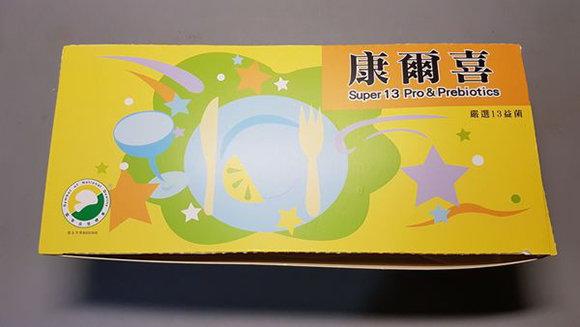 台湾质量认证益生菌产品:葡众康尔喜益生菌